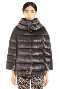 Down jacket with snaps, Down Jackets Herno woman