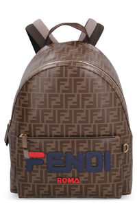 Zaino in canvas spalmato, Zaini Fendi man