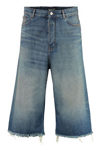 Cropped jeans ampi, Jeans straight Balenciaga man