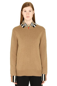 Cashmere sweater, Crew neck sweaters Burberry woman