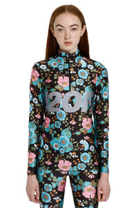Printed long-sleeve top, Long sleeved H2OFagerholt woman