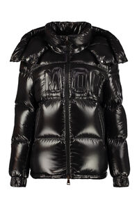 Guernic full zip padded jacket, Down Jackets Moncler woman