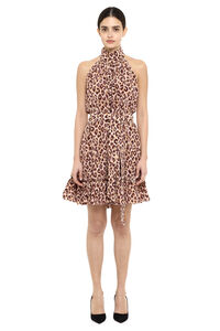 Leopard-print silk dress, Printed dresses Zimmermann woman