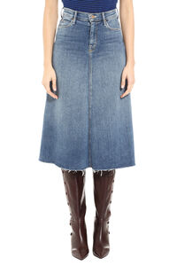 The Circle denim skirt, Denim Skirts Mother woman