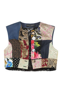 Cotton blend jacquard vest, Vests and Gilets Dolce & Gabbana woman