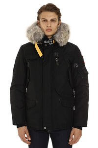 Right Hand technical fabric parka, Parkas Parajumpers man