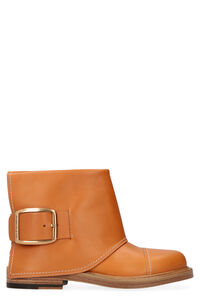 Leather ankle boots, Ankle Boots Alexander McQueen woman