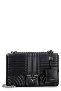 Diagramme leather bag, Shoulderbag Prada woman