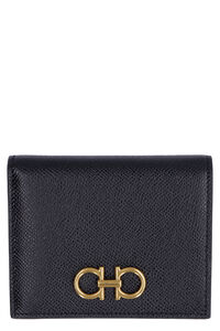 Gancini logo leather wallet, Wallets Salvatore Ferragamo woman