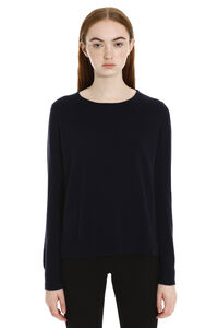 Sergio Wool and cashmere pullover, Crew neck sweaters Max Mara Studio woman
