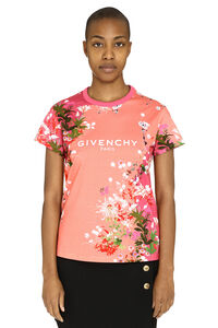 Printed cotton T-shirt, T-shirts Givenchy woman