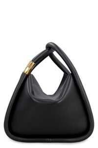 Wonton 25 leather handbag, Top handle BOYY woman