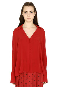 Crepe de chine blouse, Blouses Fendi woman