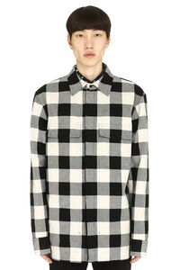 Gabardine overshirt, Checked Shirts Bottega Veneta man