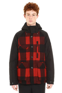 Mountain padded multi-pocket jacket, Parkas Woolrich man