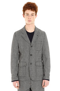 Prince of Wales jacket, Single breasted blazers Comme des Garçons SHIRT man