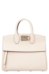 Studio leather bag, Top handle Salvatore Ferragamo woman
