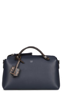 By The Way leather boston bag, Top handle Fendi woman