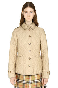Quilted jacket with buttons, Casual Jackets Burberry woman