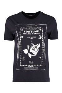 Printed cotton T-shirt, T-shirts Stella McCartney woman