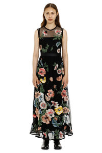 Embroidered macramé dress, Maxi dresses Red Valentino woman