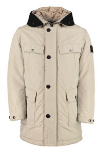 Padded multi pockets jacket, Parkas Stone Island man