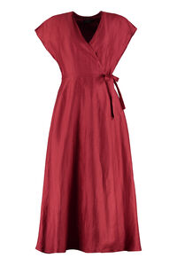 Linen and silk blend maxi dress, Maxi dresses Weekend Max Mara woman