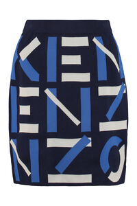 Knitted mini skirt, Mini skirts Kenzo woman