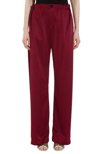 Knitted flared trousers, Wide leg pants Golden Goose woman