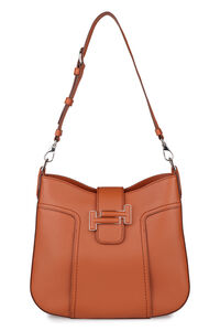 Double T leather Hobo-bag, Shoulderbag Tod's woman