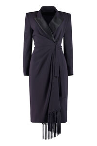 Laringe wrap-dress, Knee Lenght Dresses Max Mara woman