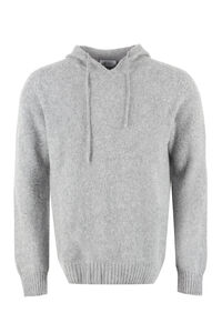 THE (Knit) - Knitted hoodie, Hooded sweaters THE (Alphabet) man