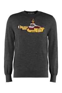 All Together Now- Intarsia wool pullover, Crew necks sweaters Stella McCartney man