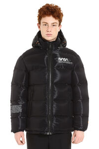 Nasa Space full zip padded hooded jacket, Down jackets Heron Preston man
