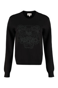 Wool blend sweater, Crew neck sweaters Kenzo woman