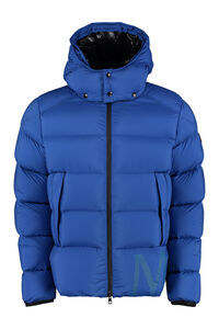 Wilms full zip padded hooded jacket, Down jackets Moncler man