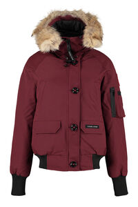 Chilliwack hooded padded bomber jacket, Bomber Canada Goose woman