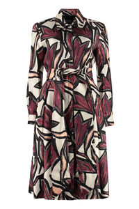 Printed shirtdress, Printed dresses Salvatore Ferragamo woman