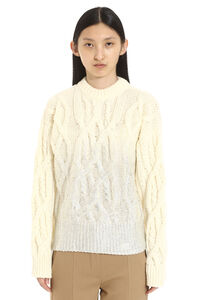 Etiope cable knit pullover, Crew neck sweaters Pinko woman