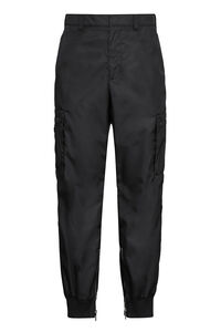 Nylon cargo pants, Casual trousers Prada man