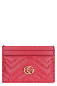 GG Marmont leather card holder, Wallets Gucci woman