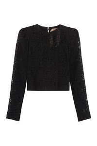 Lace top, Crew neck sweaters N°21 woman