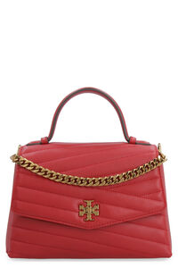 Kira quilted leather handbag, Top handle Tory Burch woman