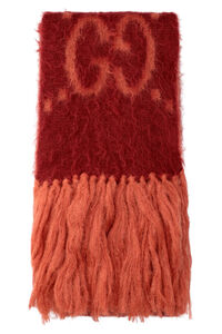 Fringed mohair scarf, Scarves Gucci woman