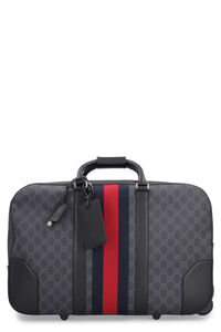 GG Supreme two wheels trolley, Luggage & travel Gucci man