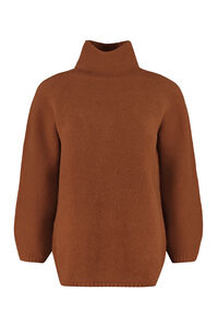 Etrusco wool and cashmere turtleneck sweater, Turtleneck sweaters Max Mara woman