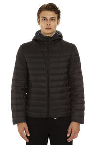 Superlight hooded down-jacket, Down jackets Prada man