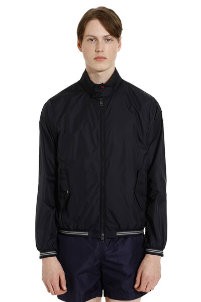Allier technical fabric bomber jacket