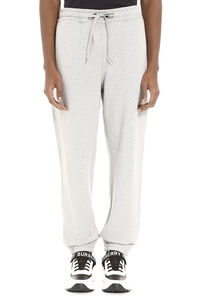 Stretch cotton track-pants, Track Pants Burberry man