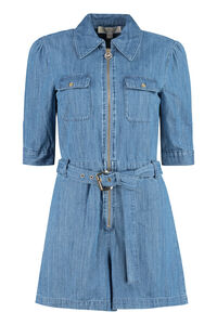 Denim playsuit, Playsuits MICHAEL MICHAEL KORS woman